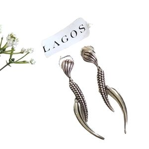 LAGOS Caviar Dangle Earrings